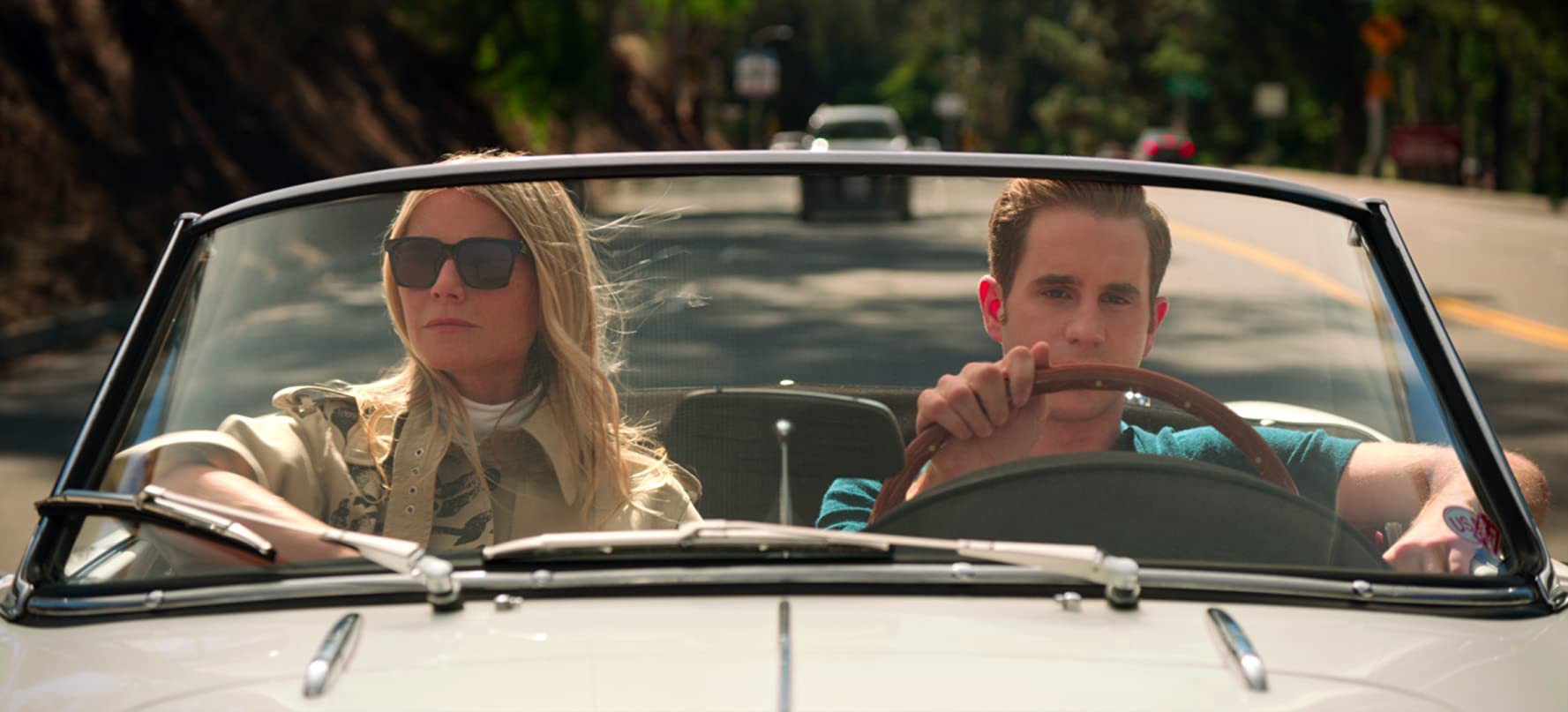 Gwyneth Paltrow and Ben Platt in The Politician (2019) — © Netflix